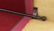 Blacksmith Stair Rods