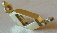 SOLID BRASS Triangular Brackets for STAIR RUNNERS Stair Rods